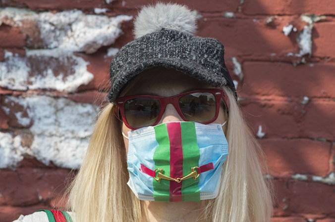 DIY Gucci facemask