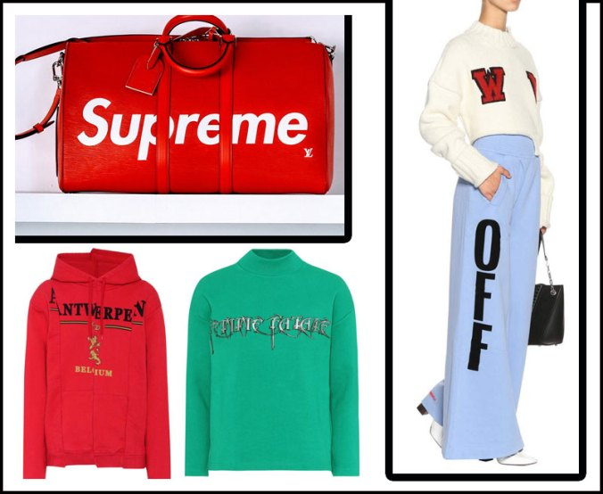Supreme offwhite street style board