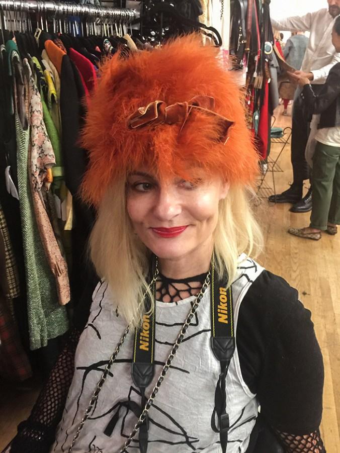 Vintage hat at the Manhattan Vintage show October 2017