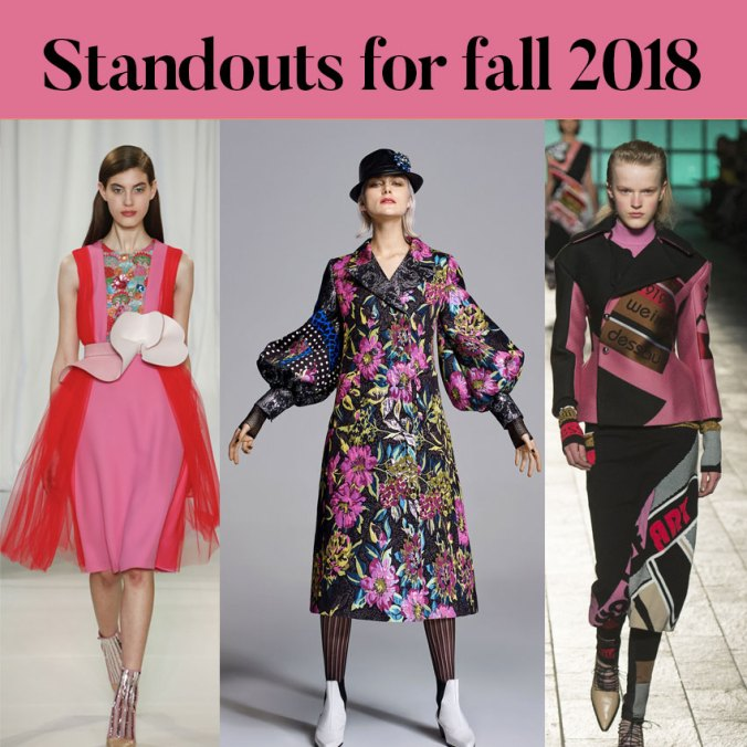 fall 2018 fashion standouts