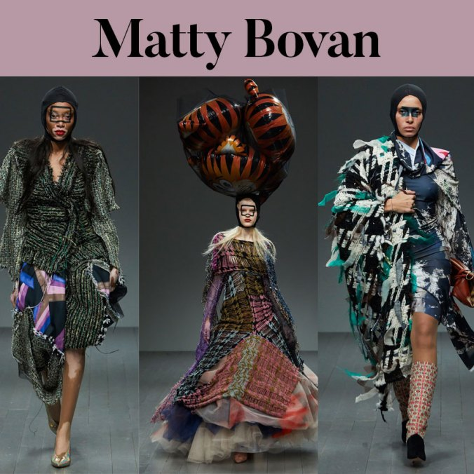 matty bovan london fashion week fall 2018