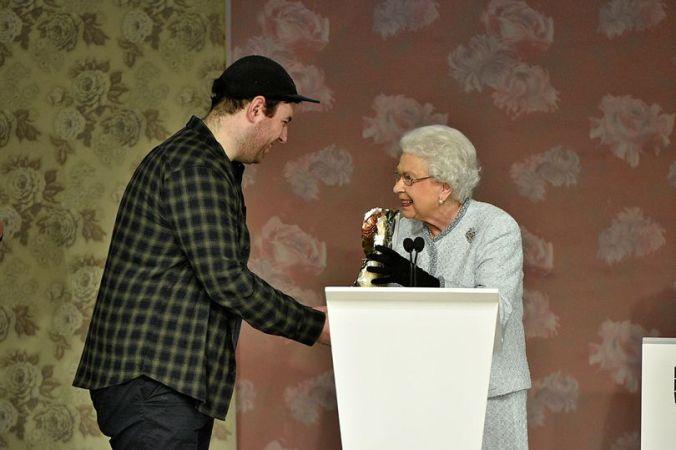 Richard Queen and the Queen
