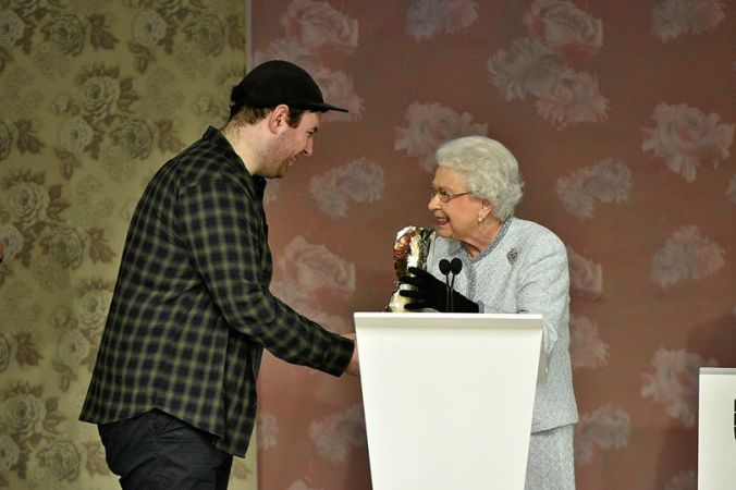 Richard Queen and the Queen