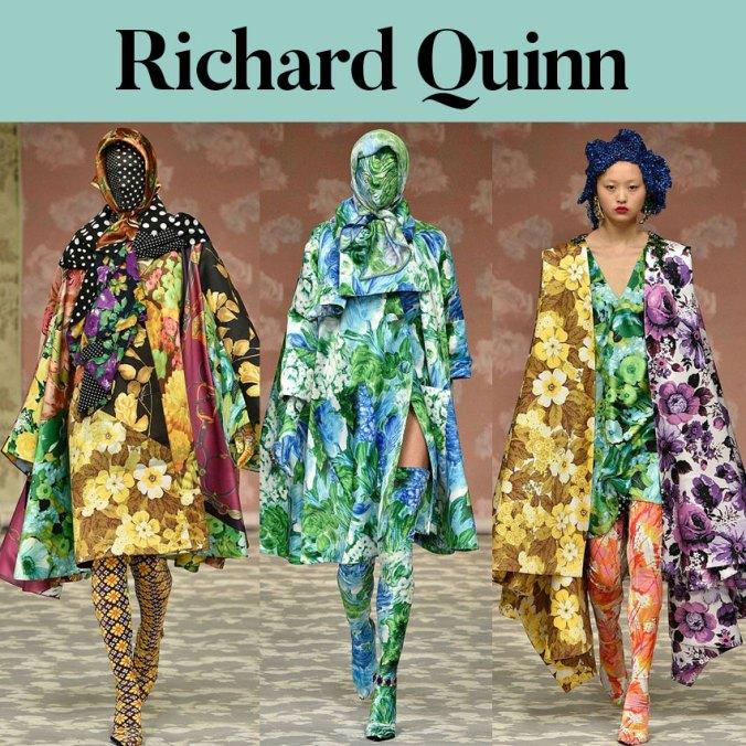 Richard Quinn fall 2018