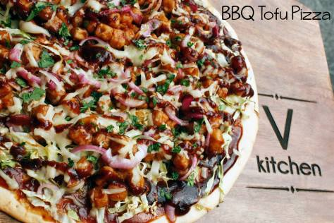V Kitchen offers a wide variety of vegan and vegetarian dishes