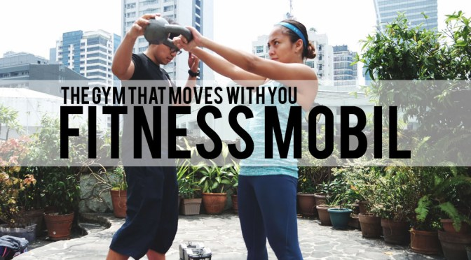 The Gym that Moves with You: Fitness Mobil