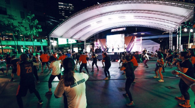 Lifestyle Network Hosts FitStreet and Gets Everyone Off Their Butts for a Weekend