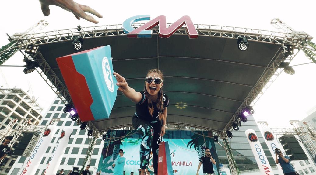 Color Manila Run Justine Cordero