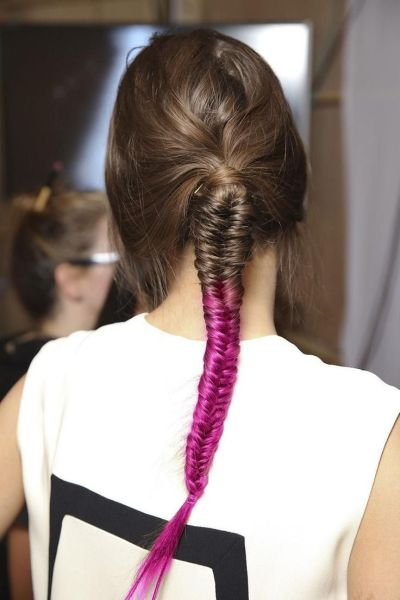 Red Braid Hairstyle