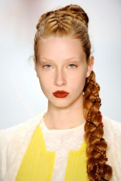 Blond Braid Hairstyle
