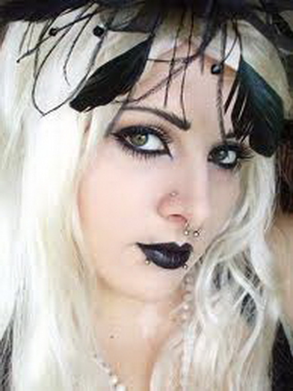 Gothic Beauty Add Some Gothic Elements To Your Makeup