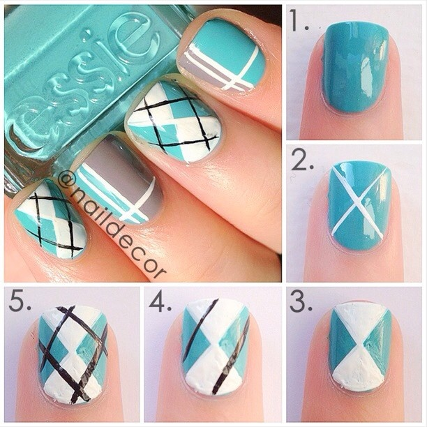 Nail DIY Nails Tutorials