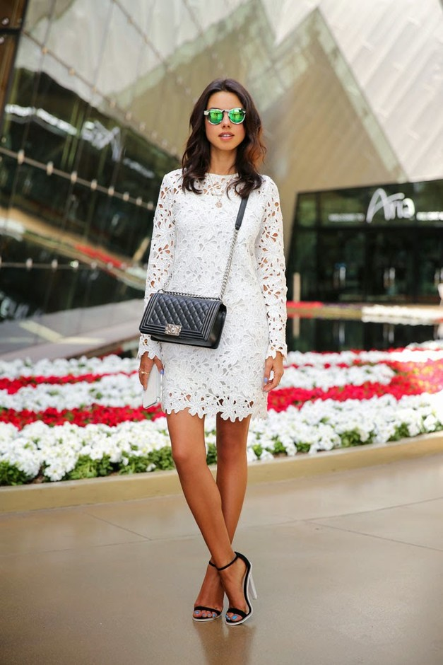 16 Gorgeous White Dress Outfit Ideas For Spring Summer