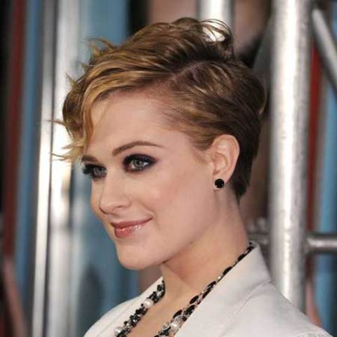 Evan Rachel Wood's Pretty Pixie Haircut