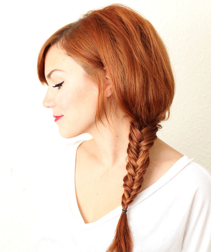Trendy Fishtail Braid Designs You Wont Miss Pretty Designs