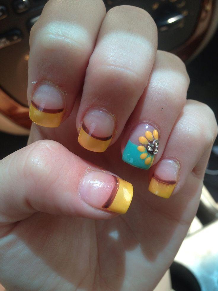 15 Sunflower Nail Designs For The Season Pretty Designs