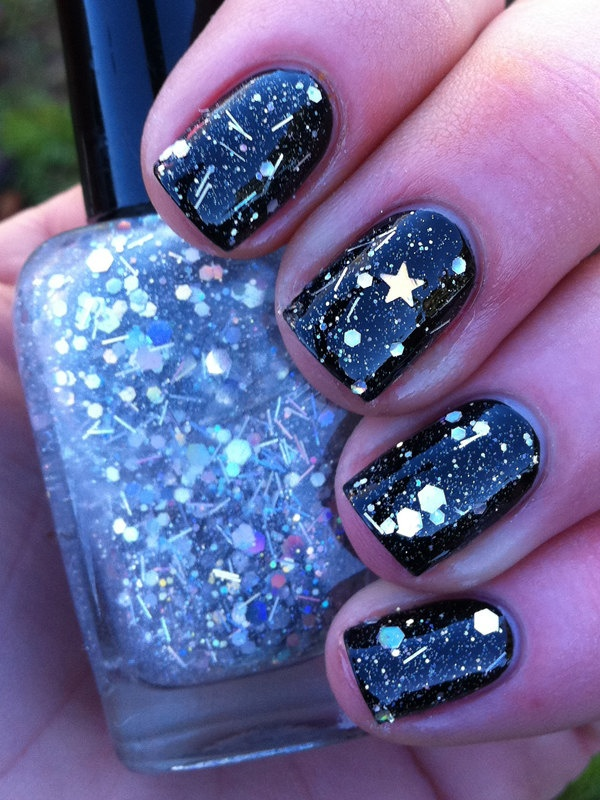 Latest Glitter Nail Designs Pretty Designs