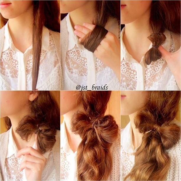 Pretty Hairstyle Tutorial For Stylish Looks Pretty Designs
