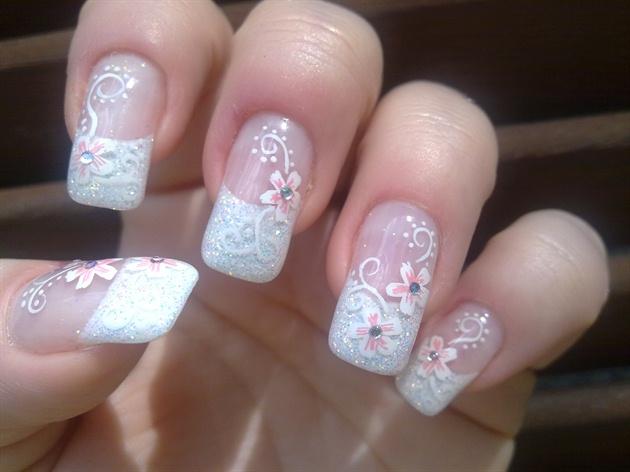 Diamond Nail Designs For Weddings Joy Studio Design
