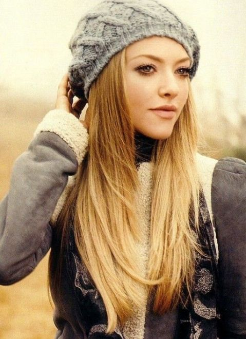 Fashionable straight haircuts for long hair flawlessend stylish long straight hair with a hat urmus Choice Image