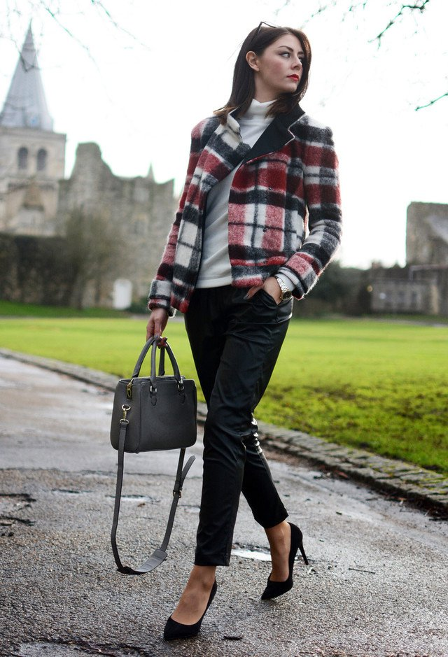 15 Chic Plaid Blazer Outfits For Fall 2014 Pretty Designs