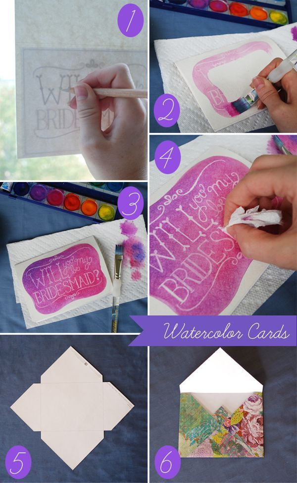DIY Ideas: How to Make an Invitation Card - Pretty Designs
