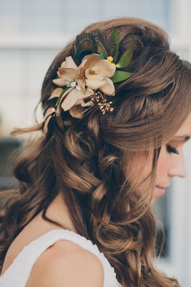 17 simple but beautiful wedding hairstyles 2019 - pretty designs