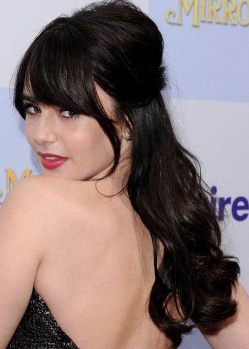 12 Beautiful Celebrity Half Up Half Down Hairstyles For