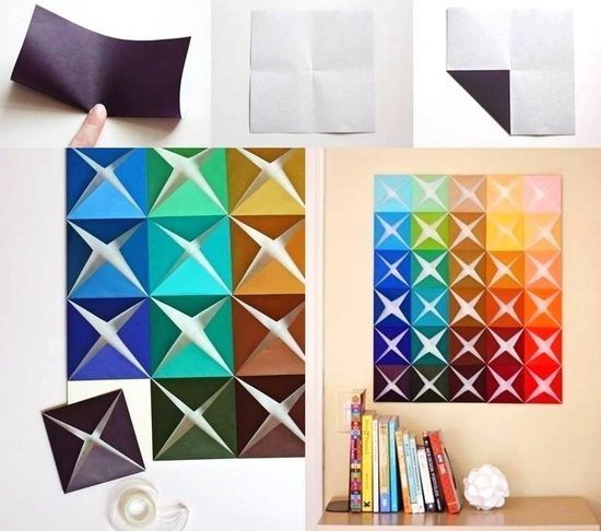 12 DIY Projects to Create Lovely Wall Art - Pretty Designs on Creative Wall Art Ideas  id=72477