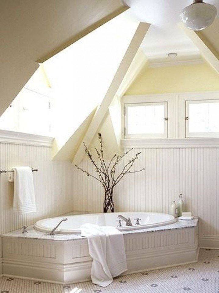 Build a room addition in any number of ways to your existing structure. 12 Modern Bathroom Designs for Your Attic - Pretty Designs