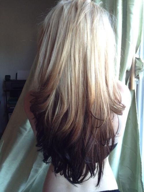 Blond Ombre Hairstyle