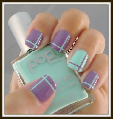 17 super easy nail art designs and ideas for 2017 flawlessend striping tape nail art design prinsesfo Image collections