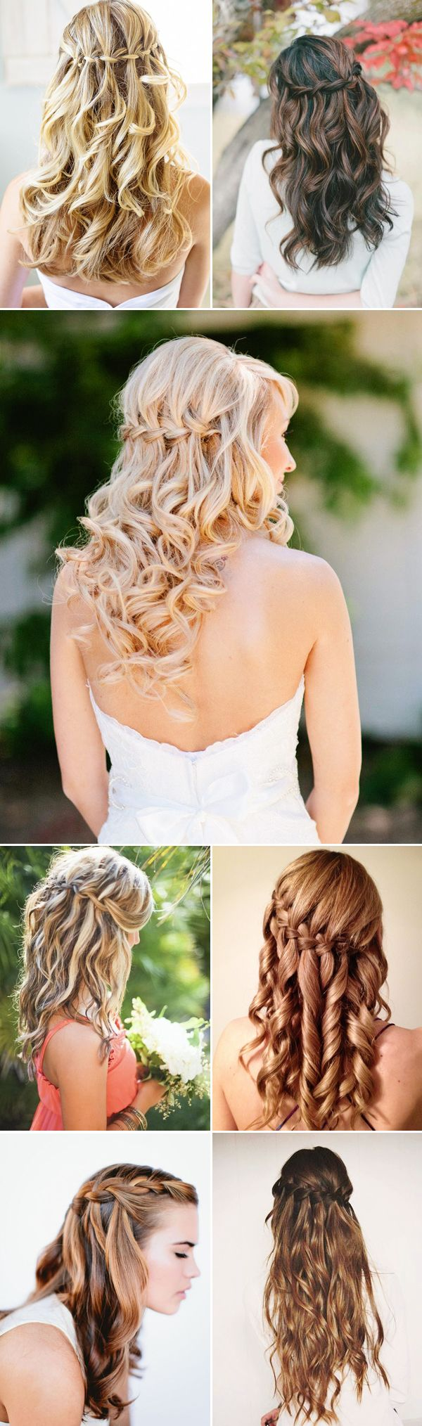 15 stunning waterfall braids - pretty designs