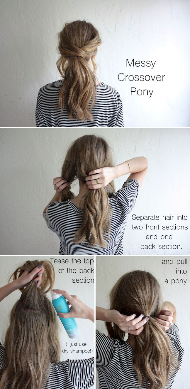20 Amazing Ponytail Hair Tutorials For Beginners Pretty
