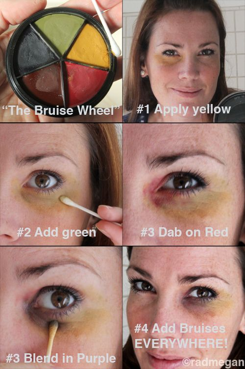 Face Look Bruised With Makeup