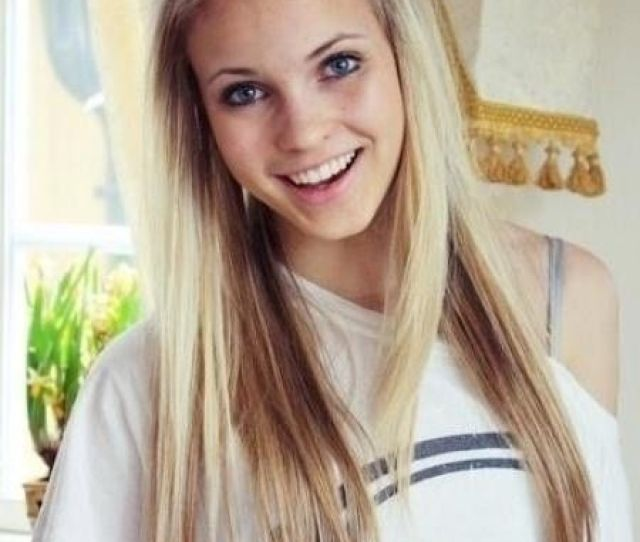 Long Straight Hairstyle With Braided Bangs