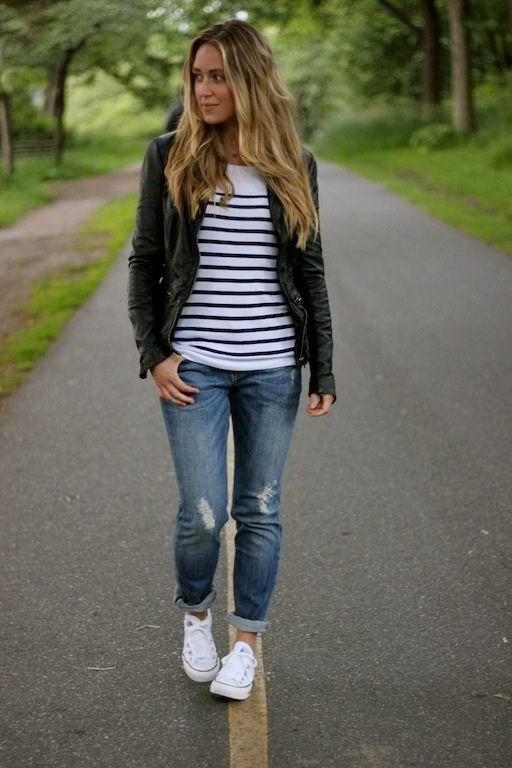 Shoes Time Winter Boyfriend Jeans