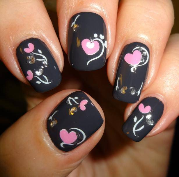 22 Nail Designs For Your Valentine S Day Pretty