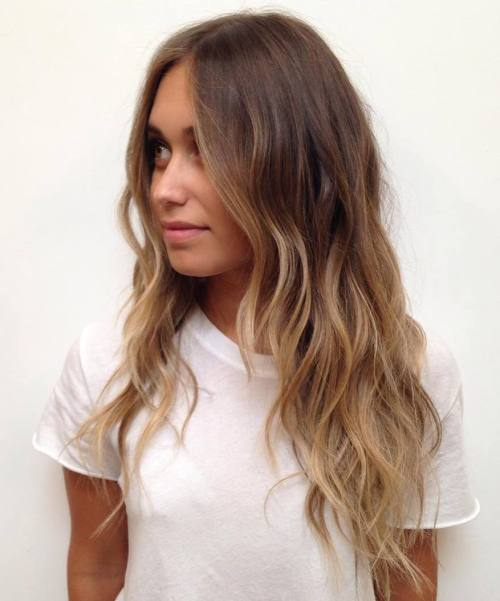 Brown Ombre Hairstyle