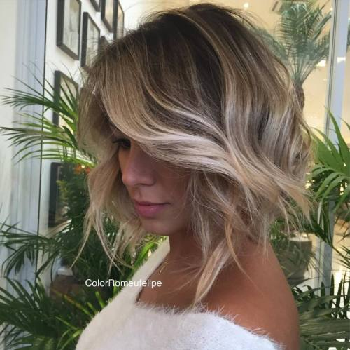 Sliver Highlights in Brown Hair