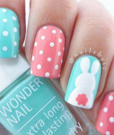 25 Bunny Nail Designs for Spring Mani – FlawlessEnd