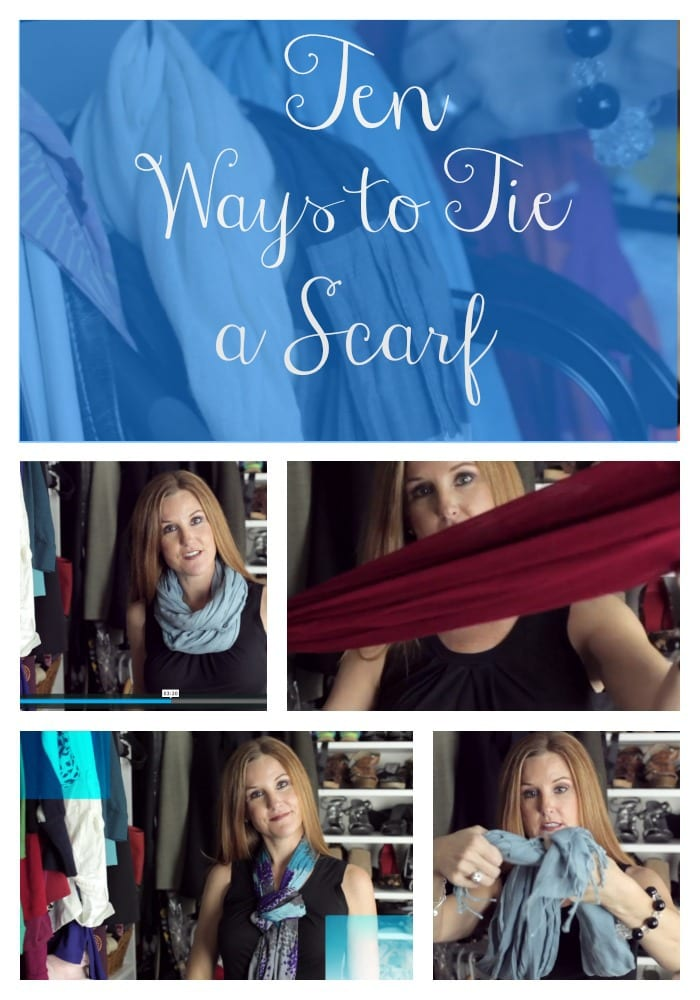 10 Ways to Tie a Scarf - Fall and Winter Style