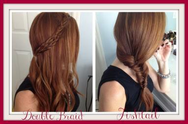 Double Braid Fishtail Braid Featured