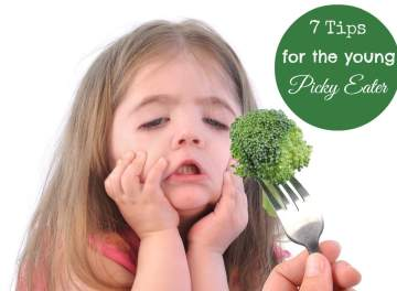 7 Tips for Young Picky Eaters: ExtrordinaryMommy.com