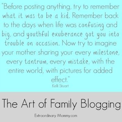 The Art of Family Blogging