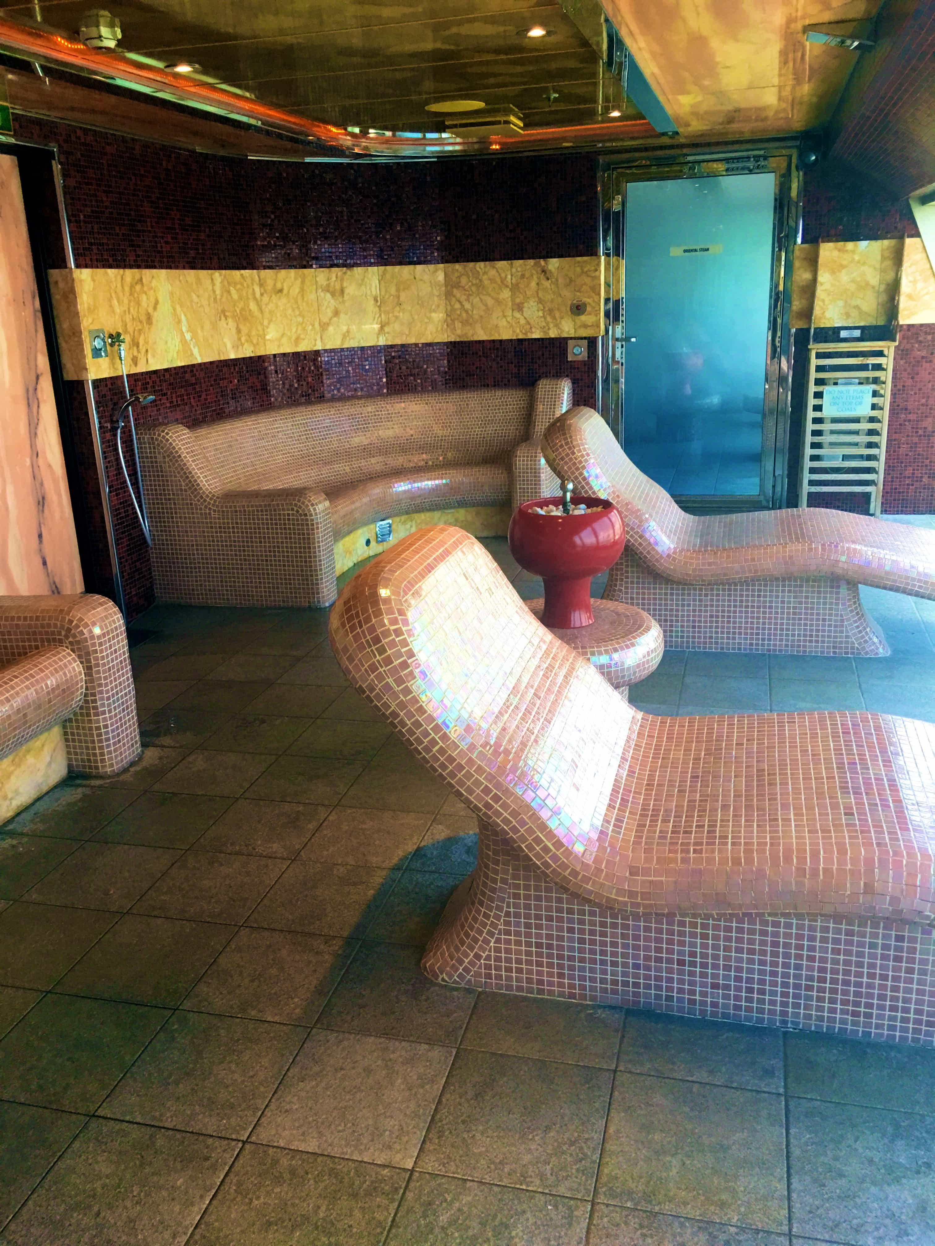 9 Reasons Cruising the Carnival Magic Good for Adults - Carnival Magic Cloud 9 Thermal Room