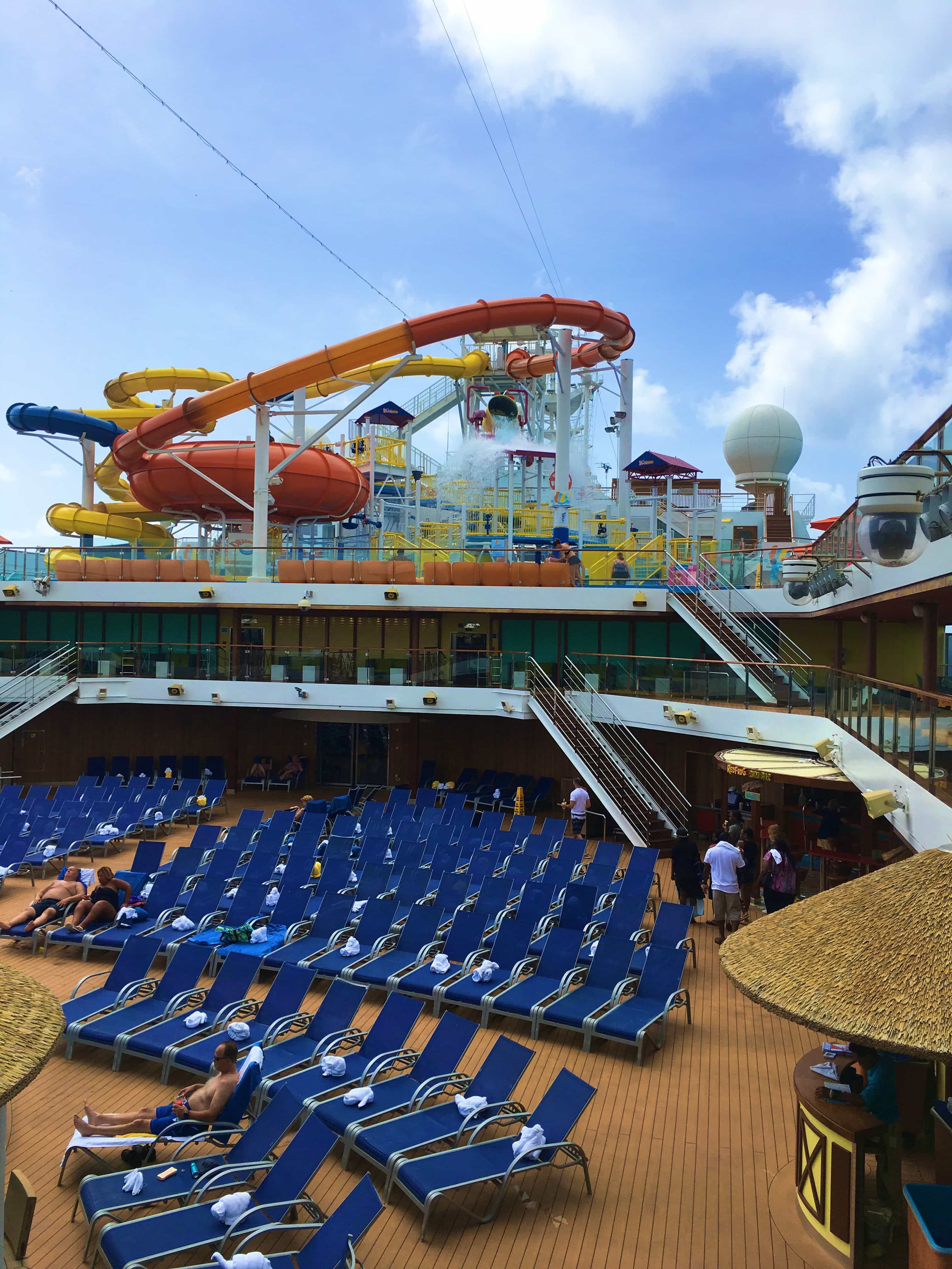 9 Reasons Cruising the Carnival Magic Good for Adults - Fun not just for kids - love the waterslide!