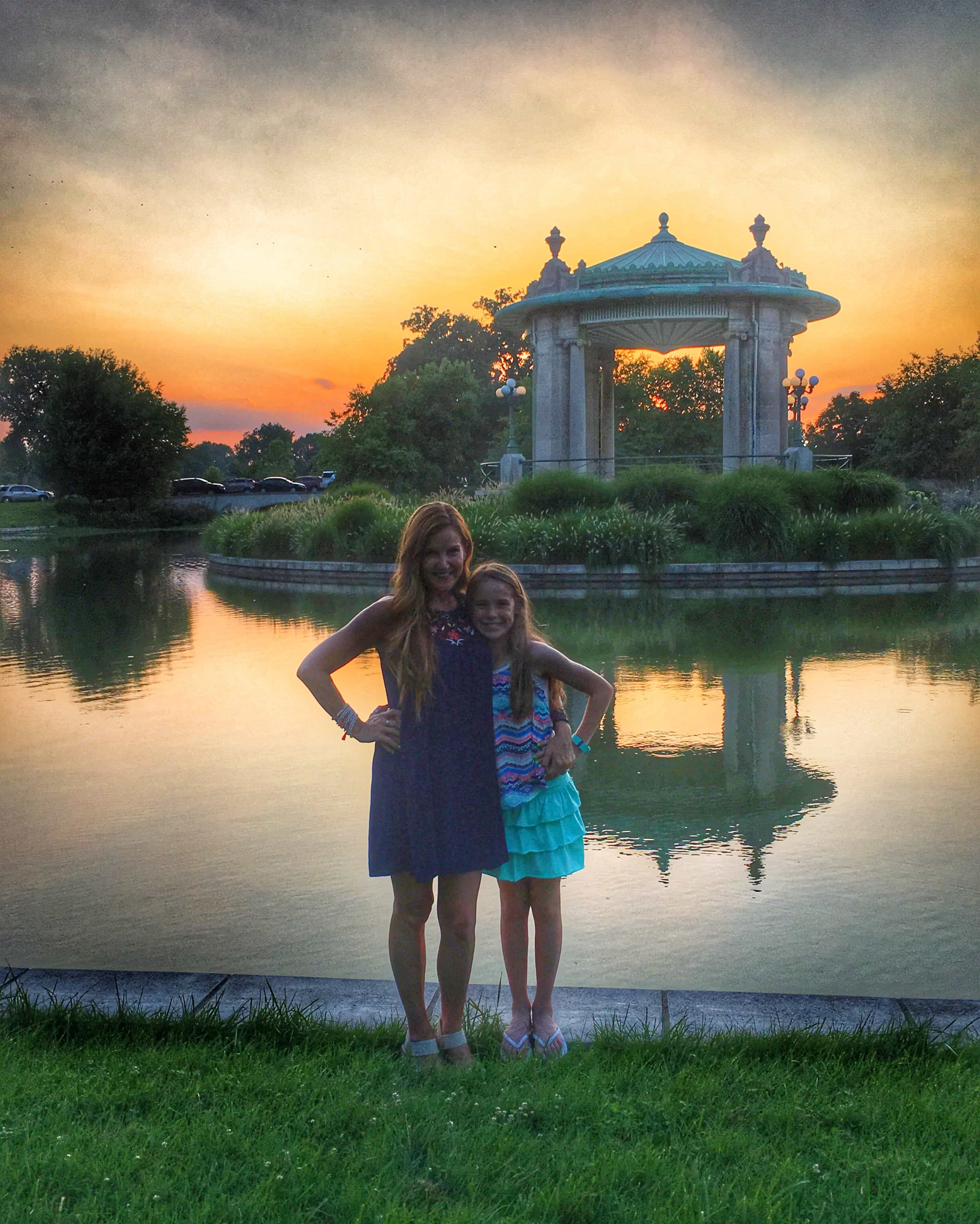 Meet Me at the Muny - Forest Park Sunset