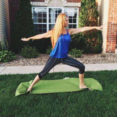 Doing Yoga for better SKIN