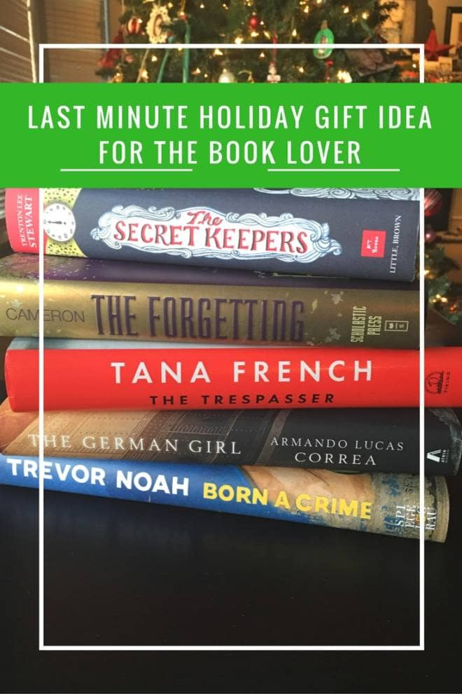 Last Minute Gift Idea for the Book Love: Just the Right Book